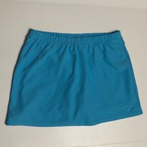 Nike Skirt with Shorts / Skort Turquoise Tennis L